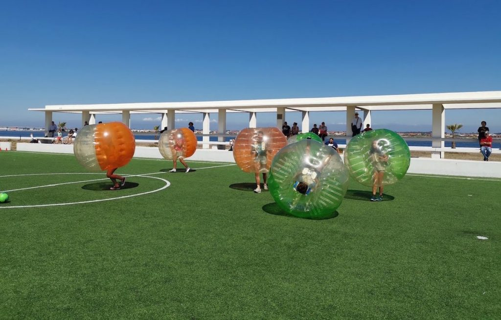 bubble football equipas